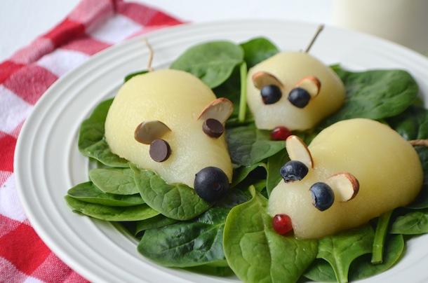 Pear Mouse Salad