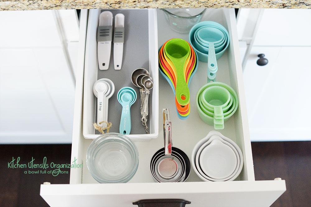 kitchen drawer organzation