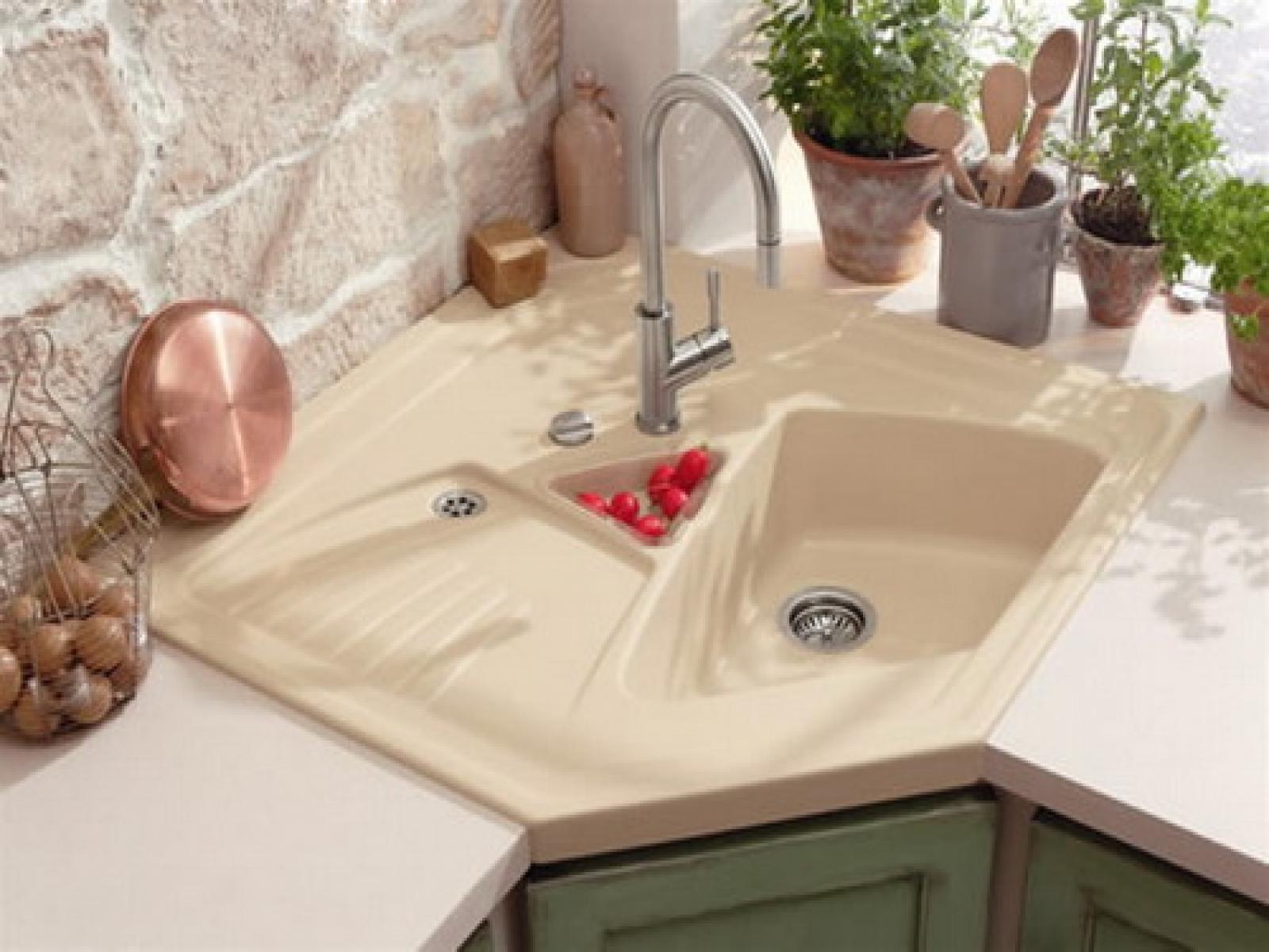 Lovely Corner Kitchen Sinks To Eal