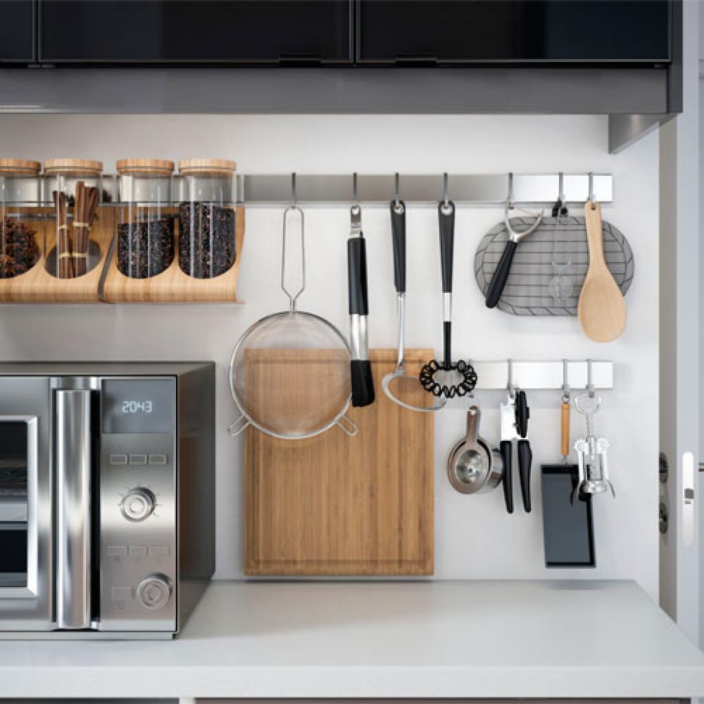 racks for kitchen utensils