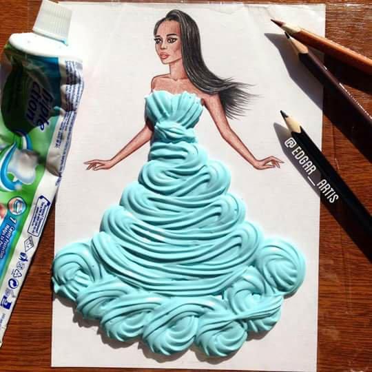 art dress