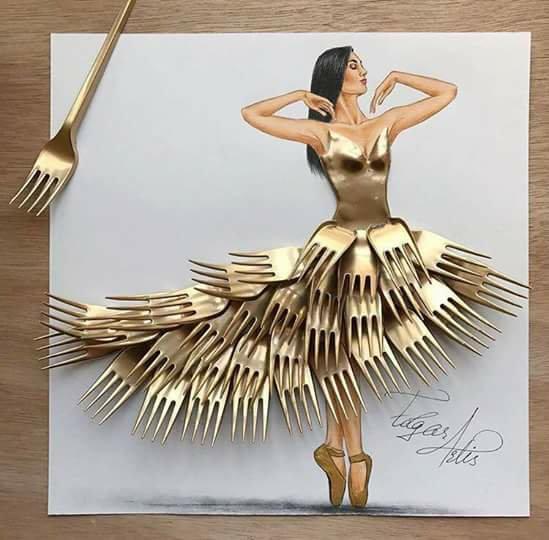 fork dress