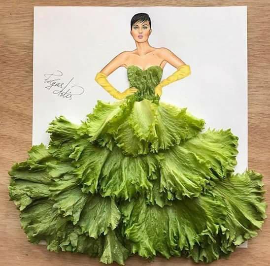 green salad dress