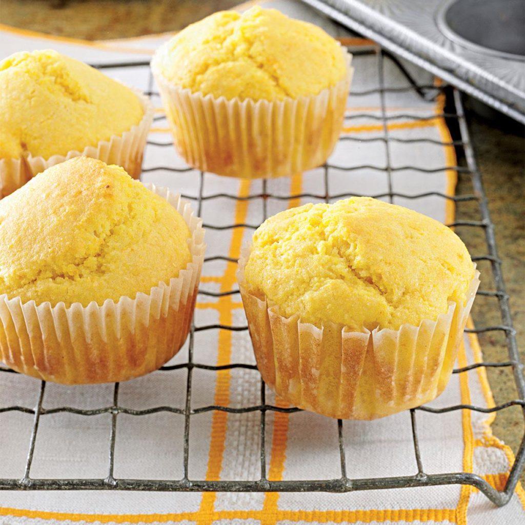 muffins orange
