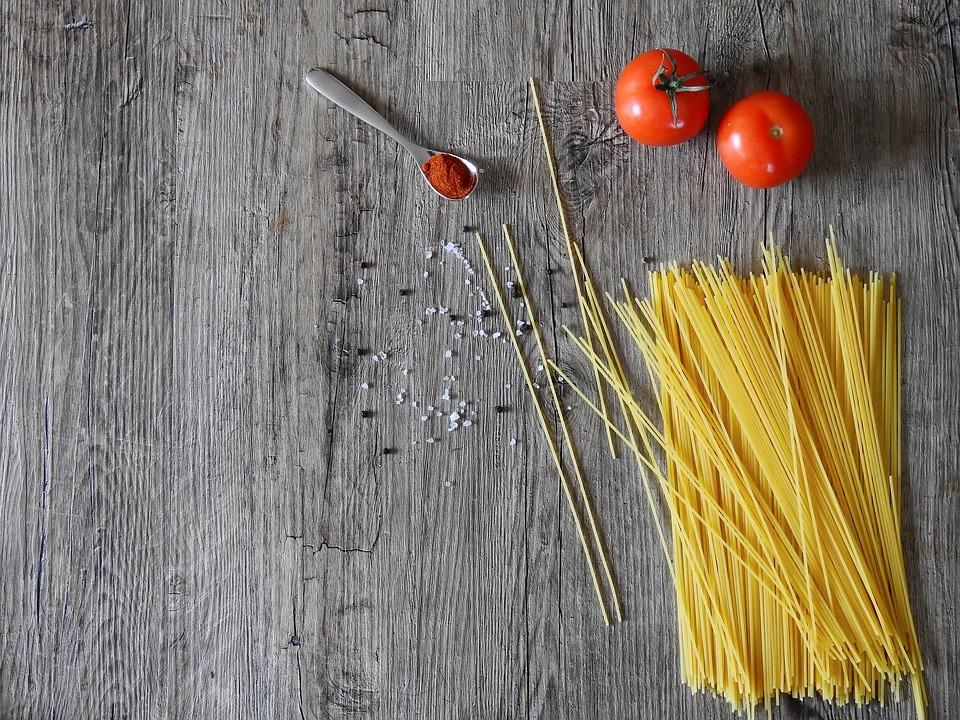 spaghetti corn
