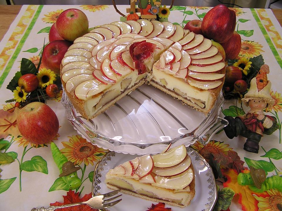 cheesecake apple desserts