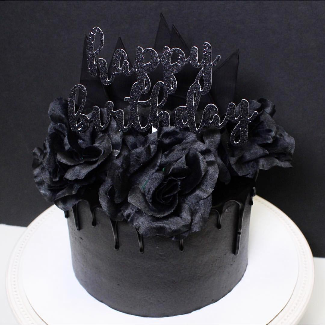 Astonishing Fall In Love With These Delicious Black Cakes Tasty Food Ideas Personalised Birthday Cards Paralily Jamesorg
