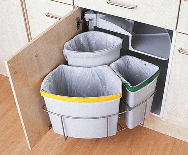 smart trash cabinet