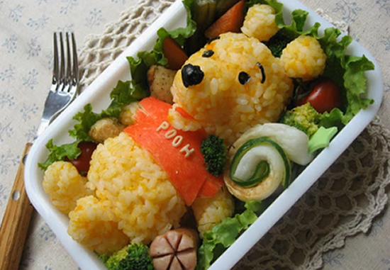 pooh rice