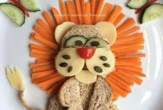 veggies lion