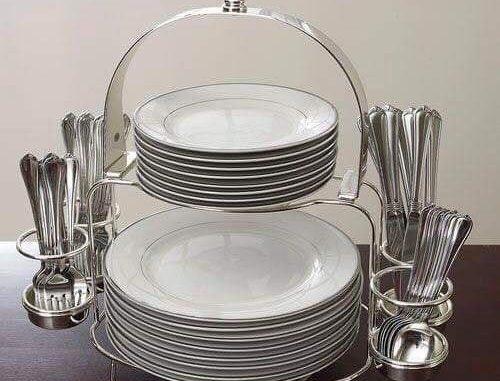 dish plate storage