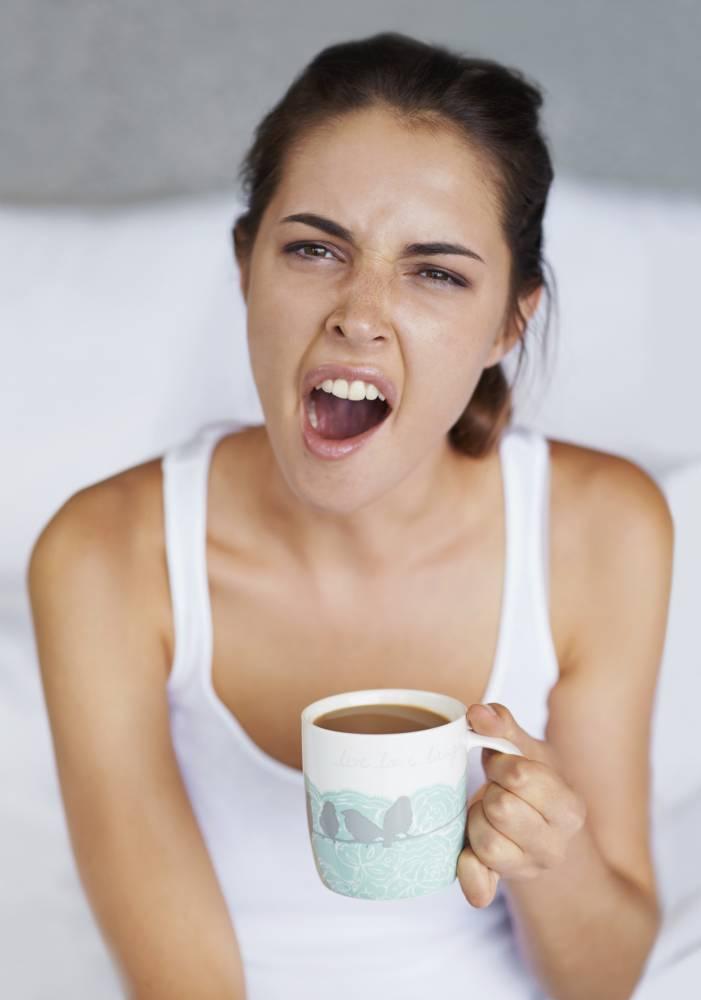 stop yawning