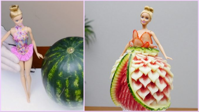 barbie watermelon dress