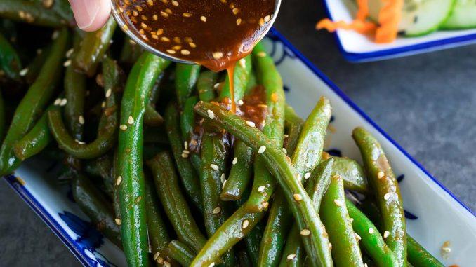 prepare green beans