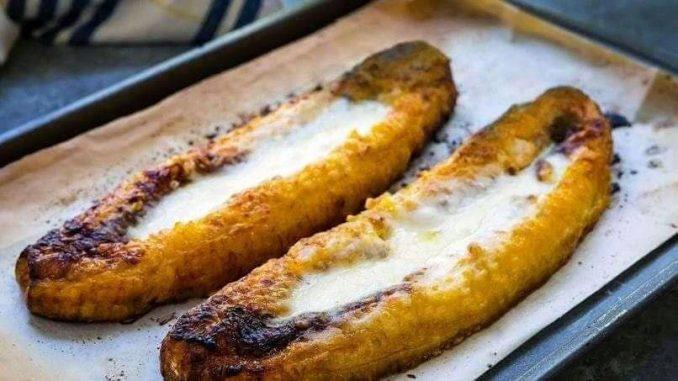 banana and cheese