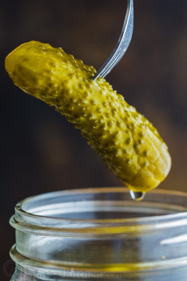 canned dill pickle recipe