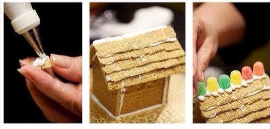 house from biscuits