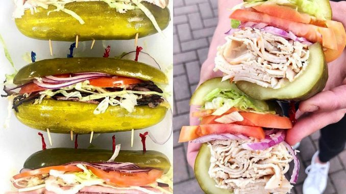 pickles sandwiches