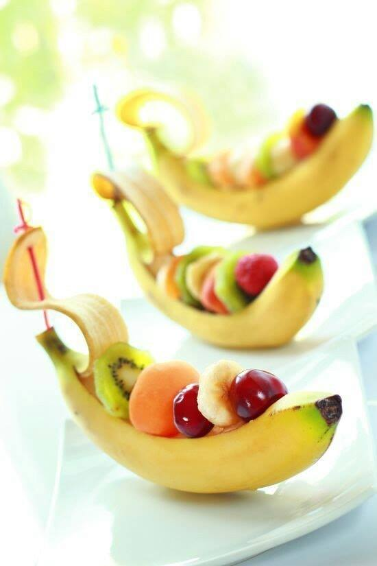 catering with banana