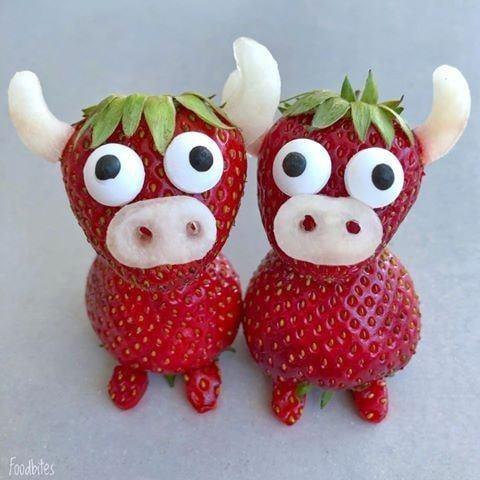 strawberry caws