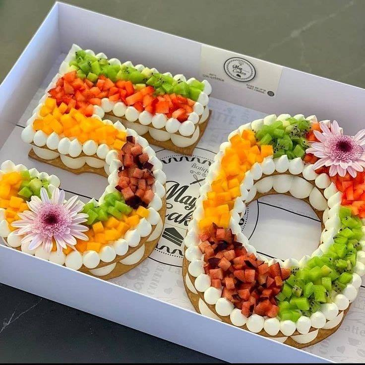 number cake 50