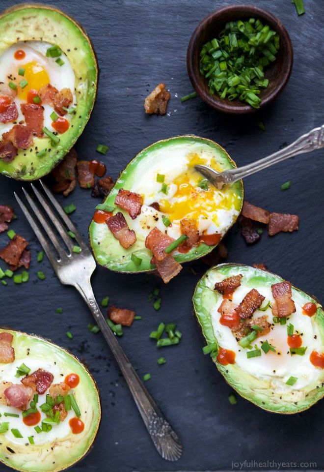 eggs in avocado