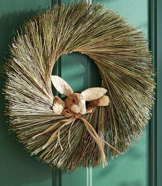 make bunny wreath
