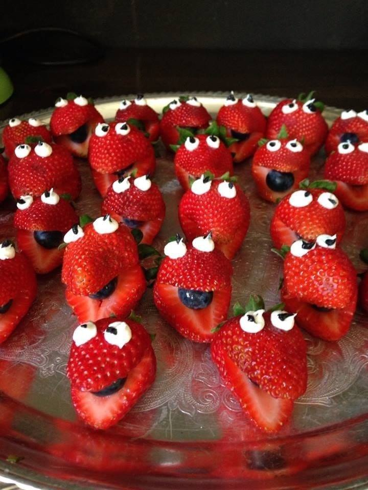 dragon strawberries