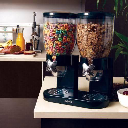 kitchen gadgets - cereal dispenser