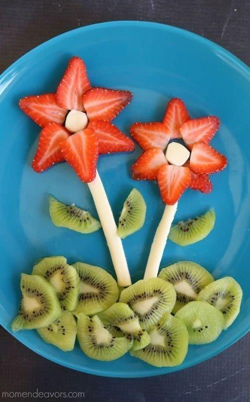 strawberries flower