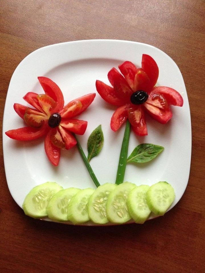 fruit/veggies art