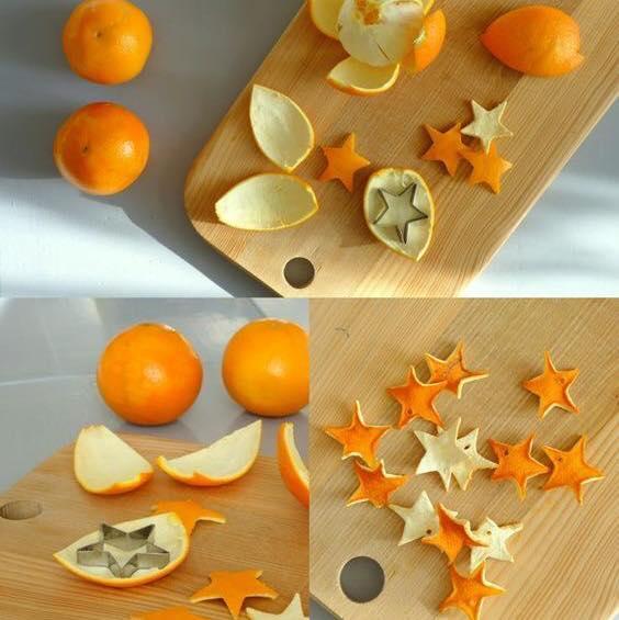 orange peels stars