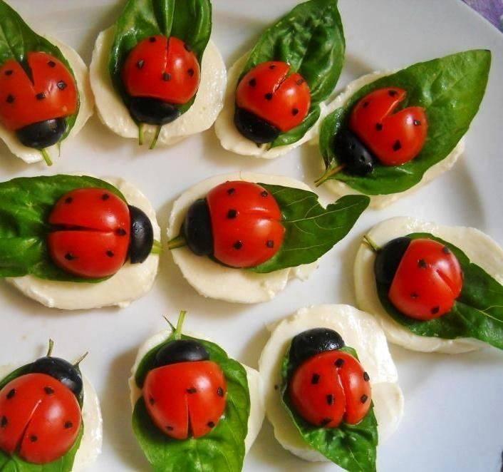ladybug salads