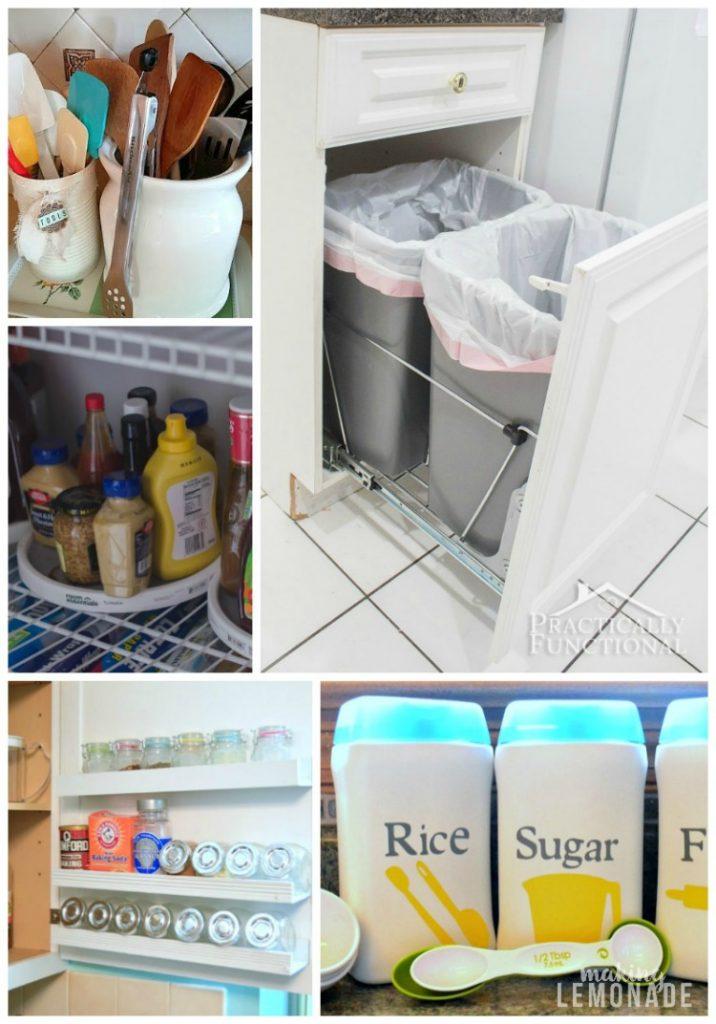 kitchen storage hacks