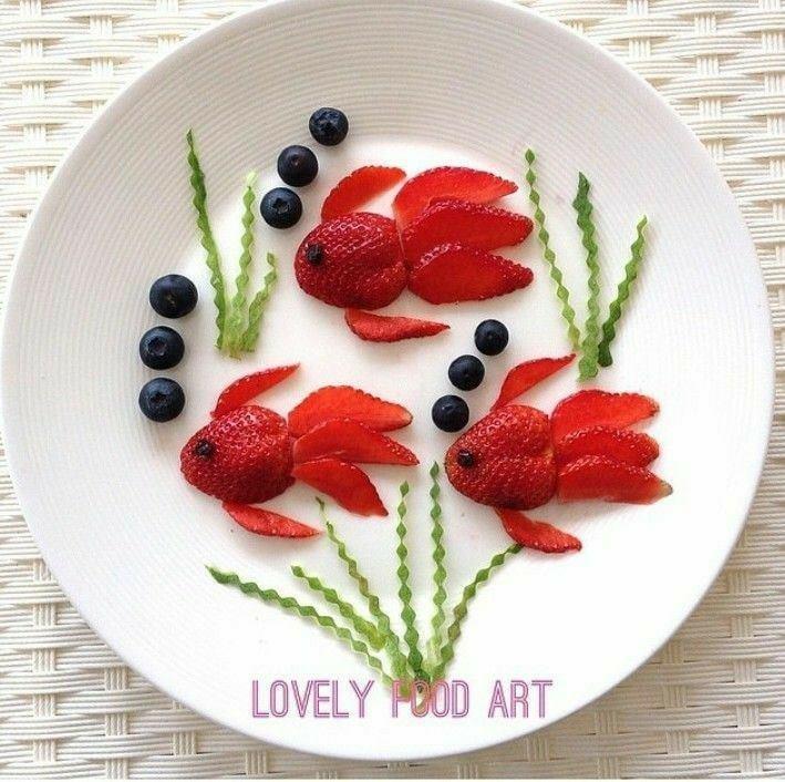 lovely strawberry art