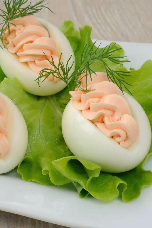 boiled eggs catering