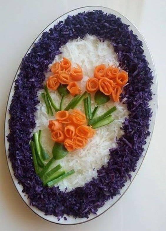 carrots flowers